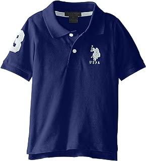 U.S. Polo Assn. Boys' Short Sleeve Solid Pique Polo