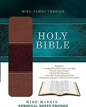 Holy Bible: Wide-Margin Personal Notes Edition: King James Version (DiCarta) (King James Bible)