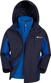 Mountain Warehouse Cannonball Kids 3 in 1 Waterproof Rain Jacket