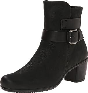 حذاء نسائي برقبة حتى الكاحل بتصميم تاتش من ايكو