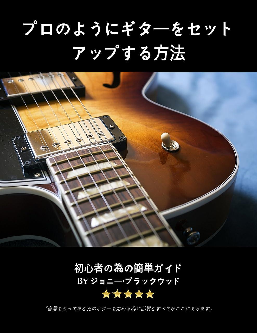 発揮する布生まれプロのようにギターをセットアップする方法:初心者の為の簡単ガイド (JAPANESE EDITION)