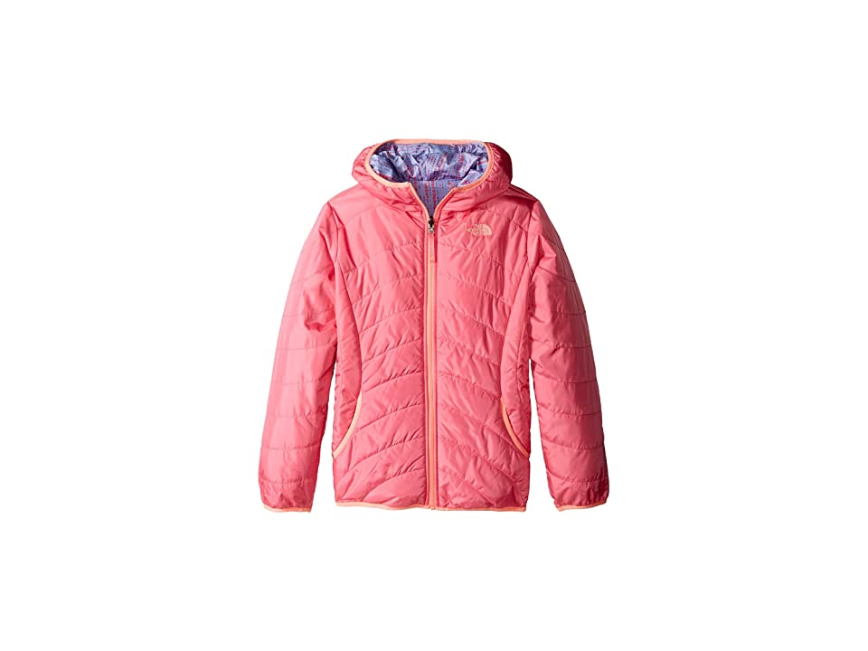 The North Face Kids Reversible Perrito Peak Jacket (Little Kids/Big Kids) (Cha Cha Pink (Prior Season)) Girl