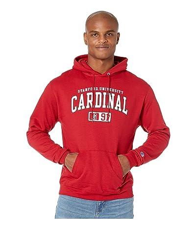 Champion College Stanford Cardinal Powerblend(r) Fleece Hoodie (Cardinal) Men
