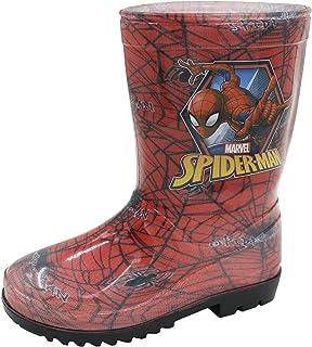 Niños Marvel Ultimate Spiderman Soputan Wellington Botas