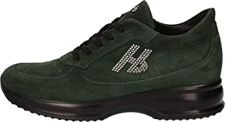HORNET BOTTICELLI Trainers Womens Suede Green