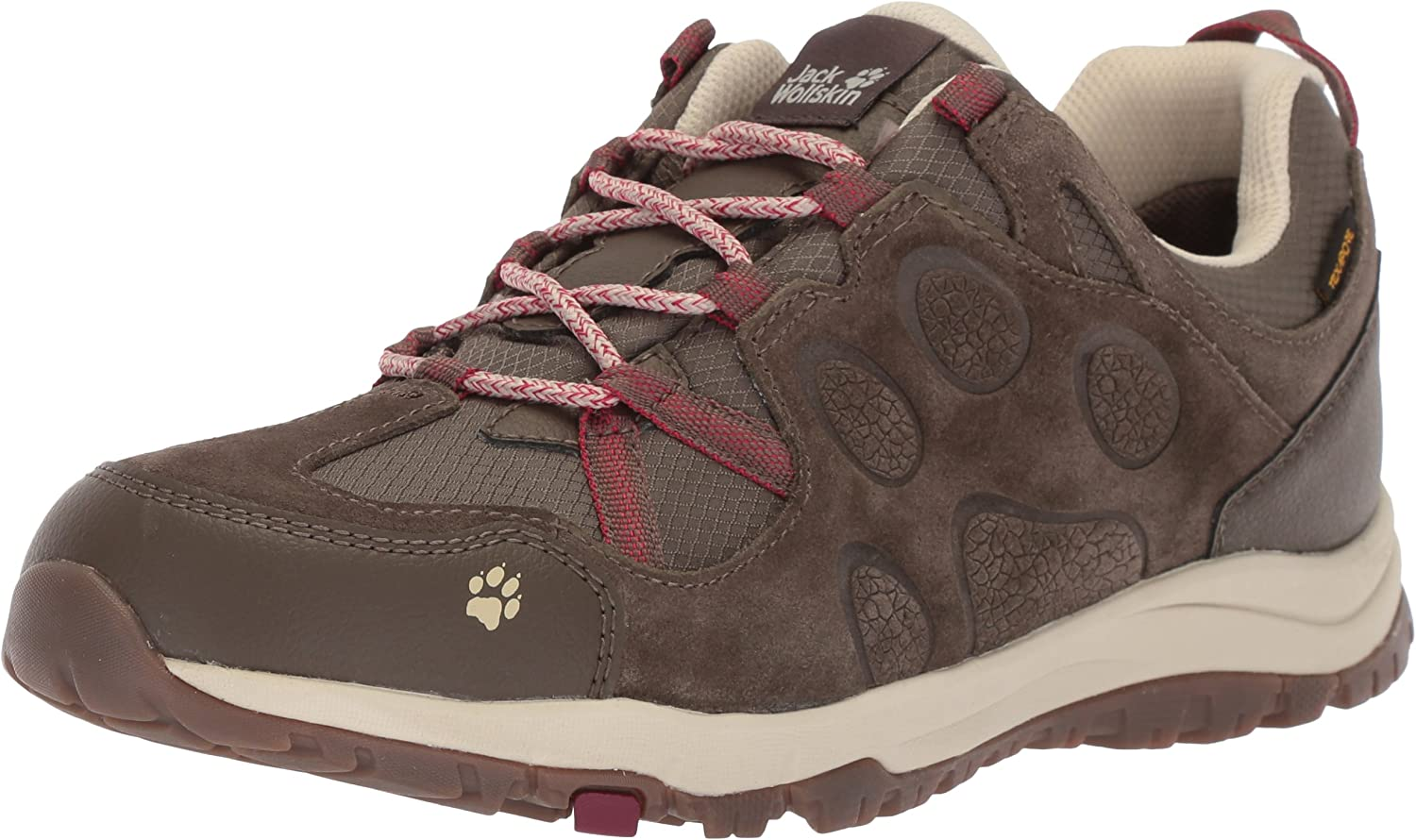 Jack Wolfskin Womens Rocksand Texapore Low W Hiking shoes