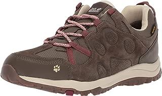 Jack Wolfskin Women's 4022361 Rocksand Texapore Low W Trekking & Hiking Shoes, 8 US, Beige