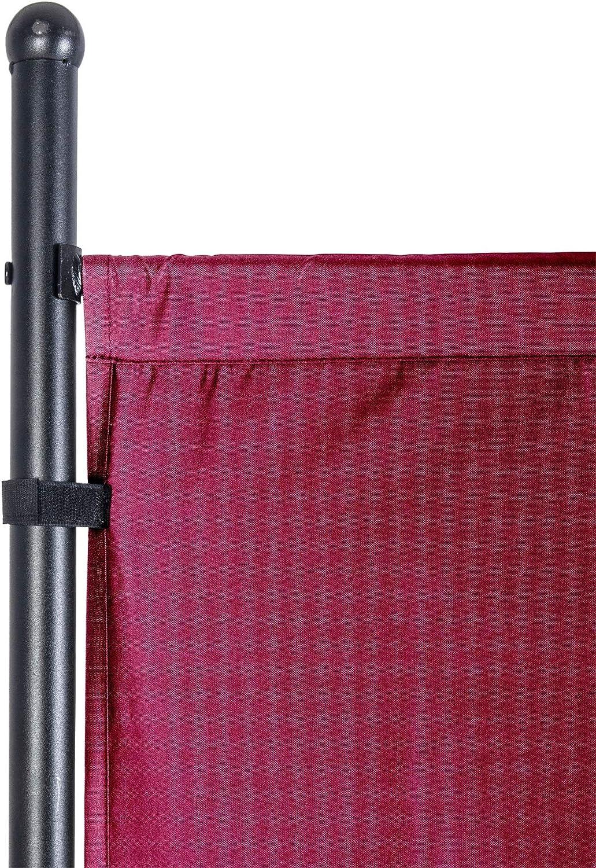 UMI Rot by  Paravent 180 x 183 cm Raumteiler Trennwand Stellwand Balkon Sichtschutz