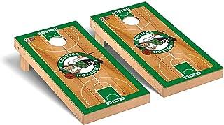 Victory Tailgate NBA Basketball Regulation Cornhole Game Set Basketball Court Version - All NBA Teams Available