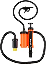 Seychelle Supreme Portable Water Filter Camping Pump - Camping, Hiking, Travel, Emergency Preparedness - Removes Bacteria, Viruses, Radiological Contaminants - Pocket Size
