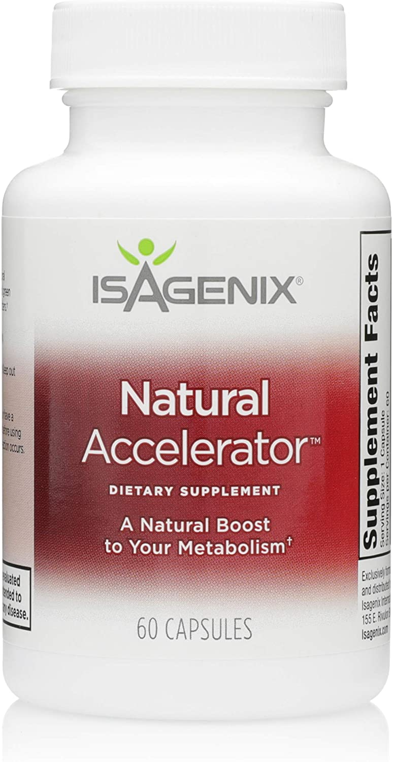 Bargain Isagenix Natural Accelerator - Metabolism Gr with Boost Max 66% OFF Capsules