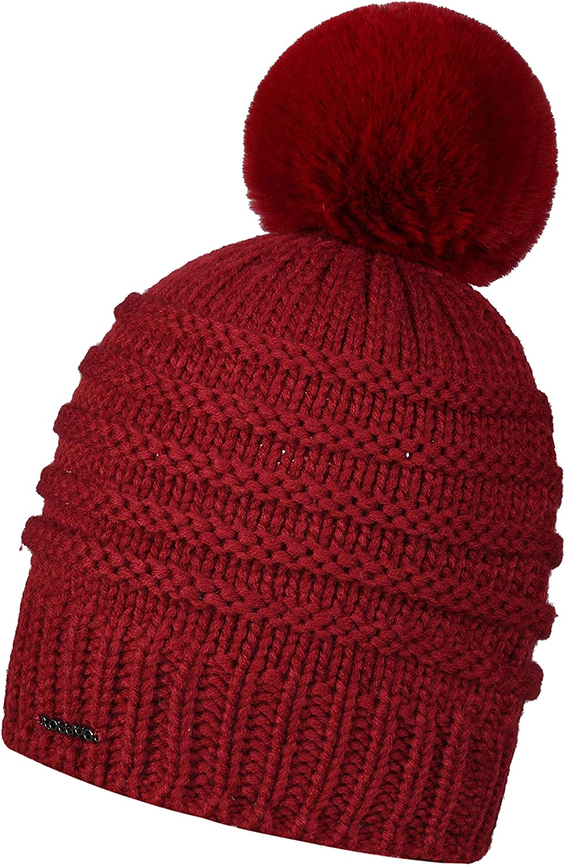 ZOWYA Winter Womens Slouchy Winter Knit Beanie HatsCable Hat Bobble Hat Ski Cap