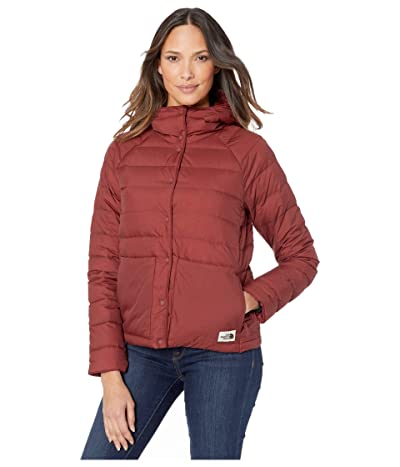 The North Face Leefline Lightweight Insulated Jacket (Barolo Red) Women
