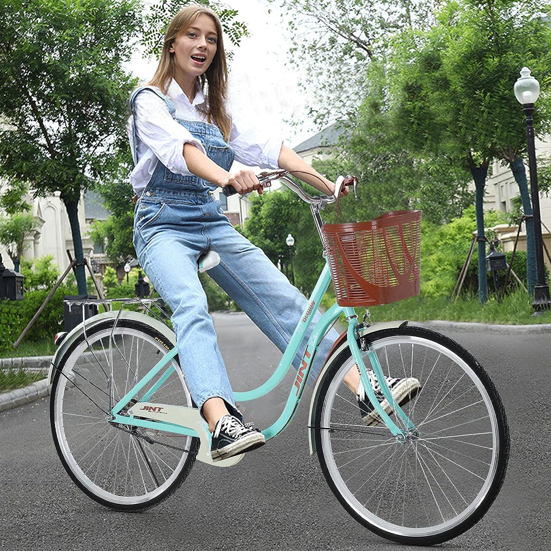 Womens Beach Cruiser Washington Mall Bike sale with Baskets Beac Inch Rear Racks 26