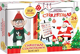 Christmas Countdown Gift Set: Storybook and Elf Plush Toy