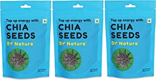 By Nature Chia Seeds, 100g (Pack of 3)