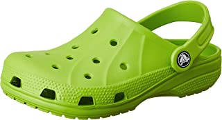 Crocs Ralen K Classic Roomy (6-7 M US Toddler, Volt Green)