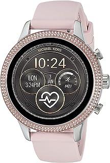 Michael Kors Women's Quartz Michael Kors Smartwatch smart Display and Silicone Strap, MKT5055