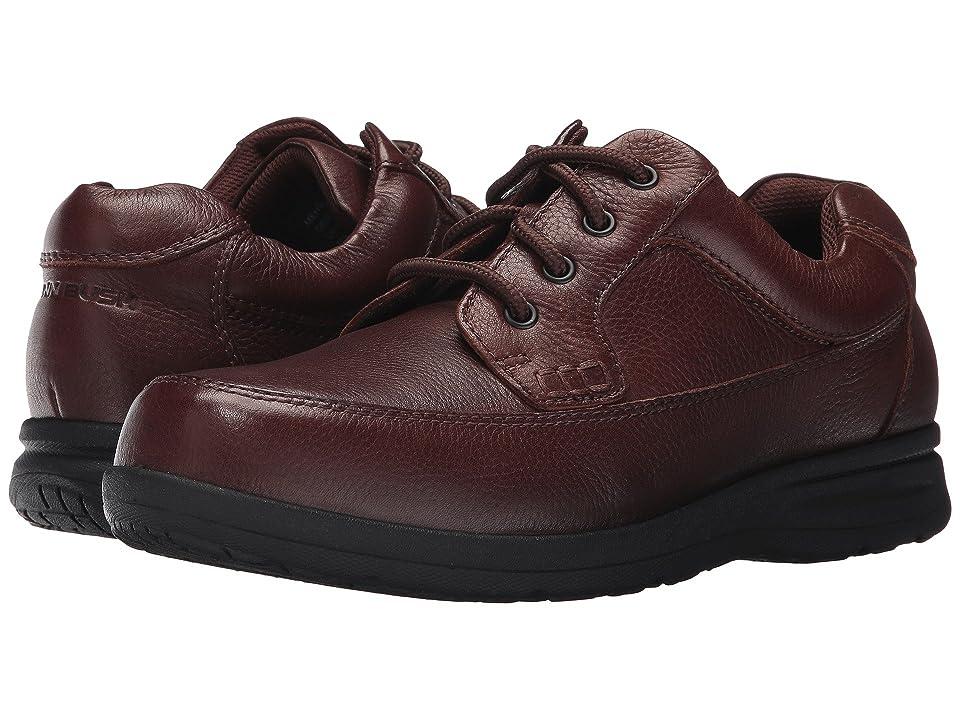 Nunn Bush Cam Oxford Casual Walking Shoe (Brown Tumbled Leather) Men