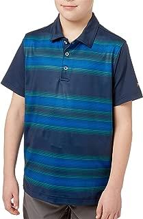 Boys' All Over Stripe Golf Polo