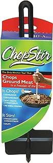 ChopStir Original Ground Meat Chopper, Frozen Juice Concentrate Stirrer, Heat-Resistant Nylon, Made in the USA, Black