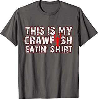 This Is My Crawfish Eating T-Shirt New Orleans Mardi Gras