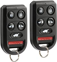 Key Fob Keyless Entry Remote fits Honda Odyssey 2005 2006 2007 2008 2009 2010 (OUCG8D-399H-A 6-btn), Set of 2