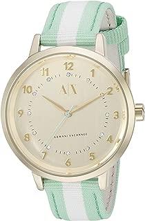 Armani Exchange Women's AX5365 Analog Display Quartz Green Watch