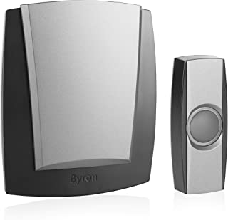 Byron by503 125 m Wireless Chime Kit – zwart/grijs