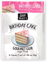 Project 7 Sugar Free Gum, Birthday Cake, 12 Count (Pack of 12) Total