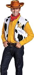 Men's Woody Deluxe Adult Costume Kit