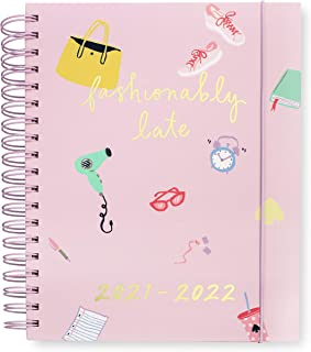 $34 » Kate Spade New York Mega Hardcover 2021-2022 Planner Weekly & Monthly, 17 Month Daily Diary Dated Aug 2021 - Dec 2022 with...
