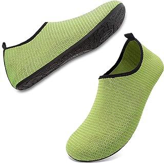 ANLUKE أحذية مائية للرجال والنساء حافية القدم جوارب مائية سريعة الجفاف للشاطئ والسباحة وركوب الأمواج والرياضات المائية