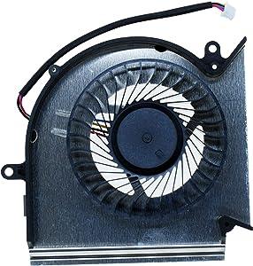 GPU Cooling Fan for GE75 GP75 GE73 GP73 GL73 GL63 GE63 GP63 GV63 GP75VR GE73VR GE63VR MS-17E2 MS-17C1 MS-16P1 MS-16P5 MS-16P7 Series Laptop Cooler PAAD06015SL-N417 N384 (GPU Fan)