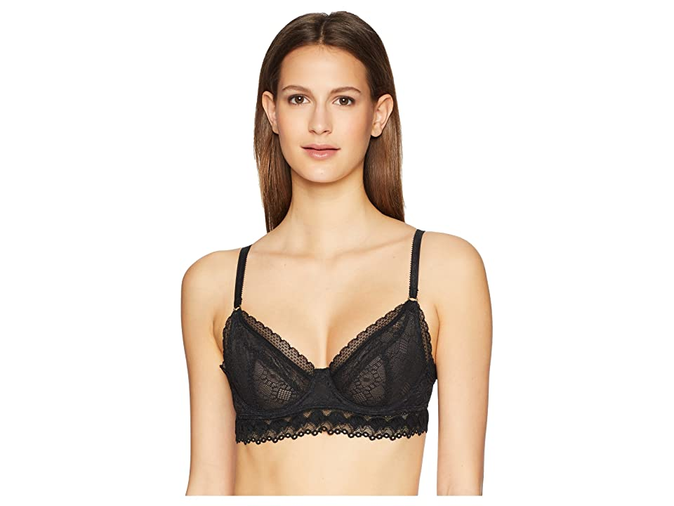 Stella McCartney Jasmine Inspiring Underwire Bra S20-327 (Black) Women
