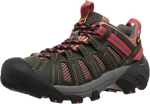 KEEN Wohommes Voyageur-W Hiking chaussures, Raven Rose Dawn, 10 M US