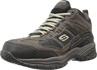 حذاء للعمل للرجال من Skechers for Work ذو غطاء لين مقاوم للانزلاق
