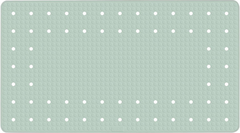 54 x 54 cm 54x54cm Color Verde Caucho Natural Alfombrilla Antideslizante para Ducha de Caucho Natural Mint Wenko 23136100 Mirasol