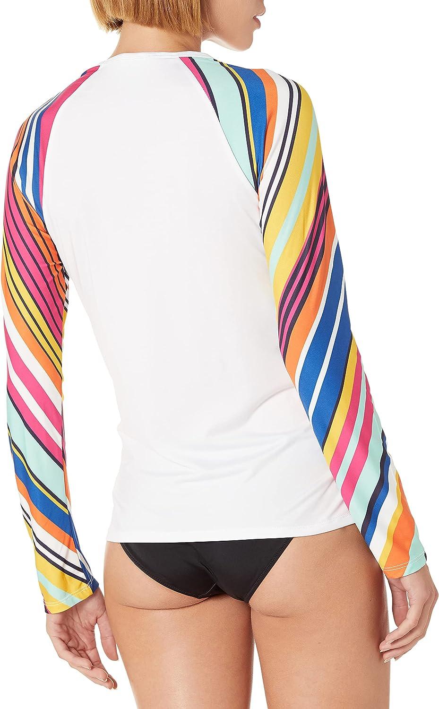 Nautica Women's Standard Long Sleeve Rashguard