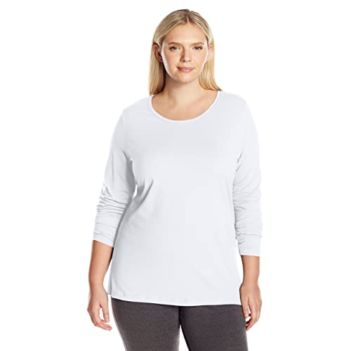 White Long Sleeve Shirts Plus Size Amazon Com