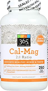 365 Everyday Value, Cal-Mag 2:1 Ratio, 250 ct