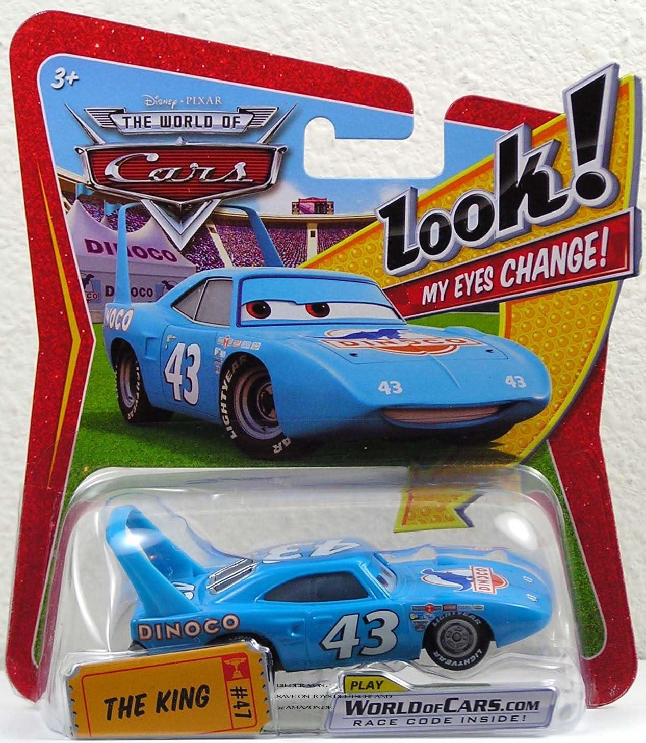 Disney Pixar CARS Movie 1:55 Die Eyes New Orleans Mall with Lenticular specialty shop Car Cast