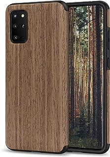 TENDLIN Galaxy 6.7 Case Wood Grain Design and Flexible TPU Silicone Hybrid Slim Case Compatible with Samsung Galaxy 6.7 (B...