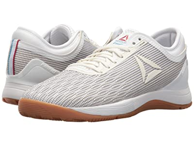 Reebok CrossFit(r) Nano 8.0 (White/Classic White/Excellent Red/Blue/Gum) Women