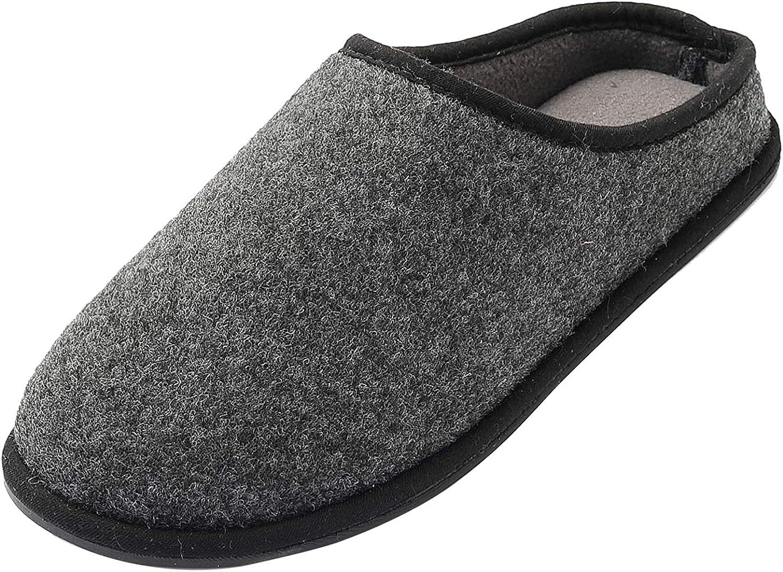 Chaussures Anti-D/érapant /À Glisser Chaude Automne Hiver Int/érieur Respirante Pantoufles Doubl/ées FLY HAWK Homme Maison Pantoufles Chaussons en Mousse /À M/émoire