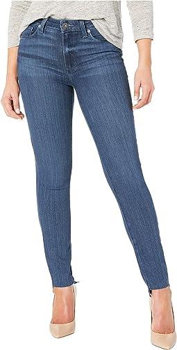 Hoxton Ankle Jeans w/ Undone Step Hem in Amaya