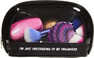Miamica Clear Window Travel Case, I'm Just Pretending to Be Organized