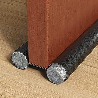 H HOME-MART Twin Draft Stoppers for Bottom of Doors 1 Pack Door Draft Blocker Guard Noise Light Odor Reduction Windshield ...
