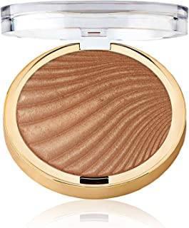 Milani Strobelight Instant Glow Powder - Glowing (0.3 Ounce) Vegan, Cruelty-Free Face Highlighter - Shape, Contour & Highlight Features with Shimmer Shades