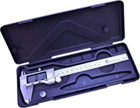 MLTOOLS Digital Caliper  Metric, Fractions and inch   3 in 1 Caliper   6 inch Stainless Steel Digital Caliper   DC8001